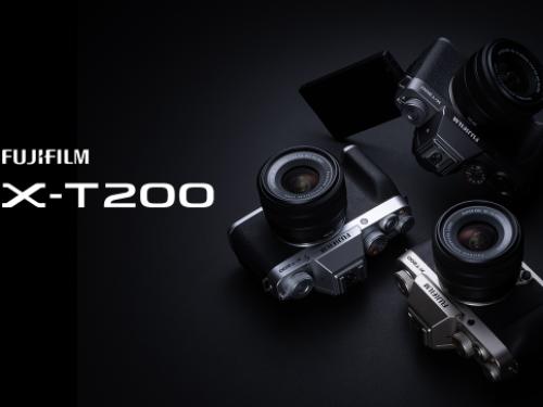 富士胶片推出全新轻便型无反数码相机FUJIFILM X-T200