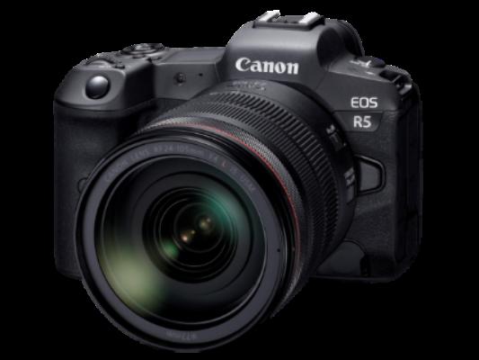 佳能宣布开发新一代全画幅专微相机EOS R5和新的RF系列镜头