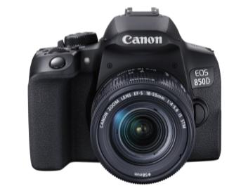 多方位升级 佳能发布数码单反相机新品EOS 850D