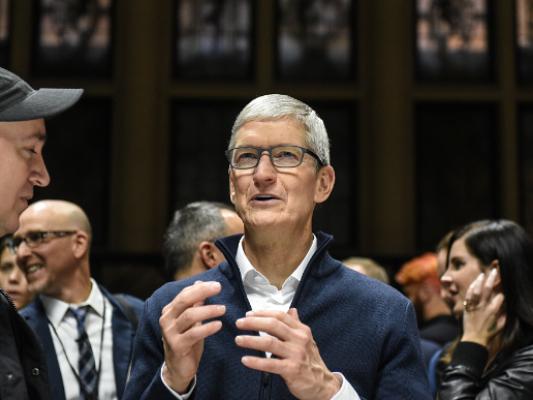 大公司晨读:苹果CEO库克认为中国已控制住新冠状病毒