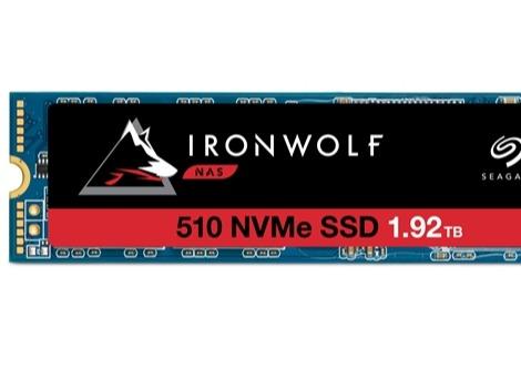 希捷发布NAS专用Ironwolf 510系列SSD