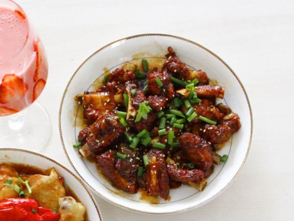 极客美食:香酥软糯—烹饪机版糖醋排骨