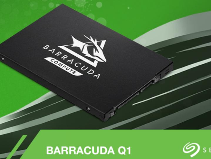 希捷推出QLC闪存酷鱼Q1:SATA接口+480G起步