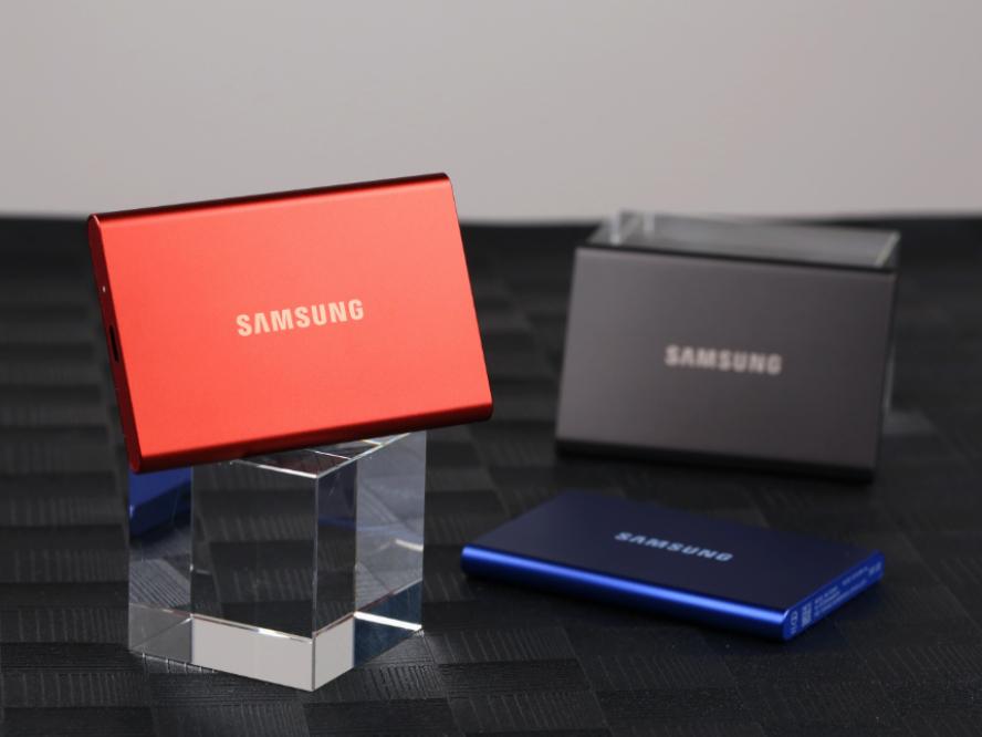 三星移动固态硬盘T系列新品T7强势登场 各大平台预售开启优惠多多