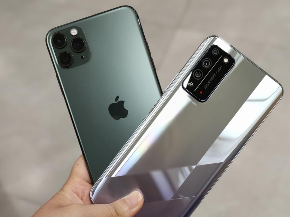 影像能力哪家��?�s耀X10�ciPhone 11 Pro Max AI影像��力�Ρ�y�