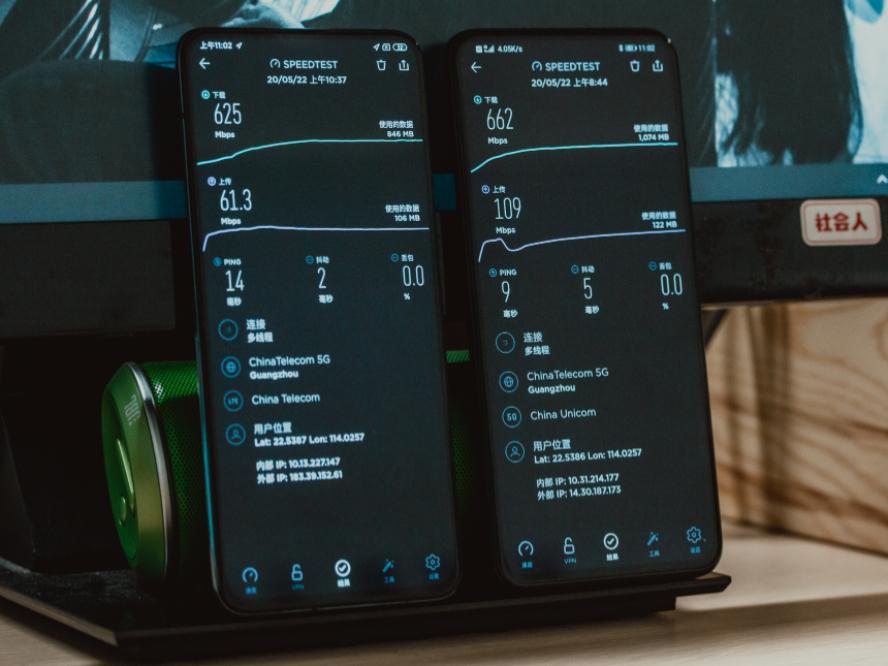 荣耀X10 5G网速对比红米K30 Pro,麒麟820展现核心科技