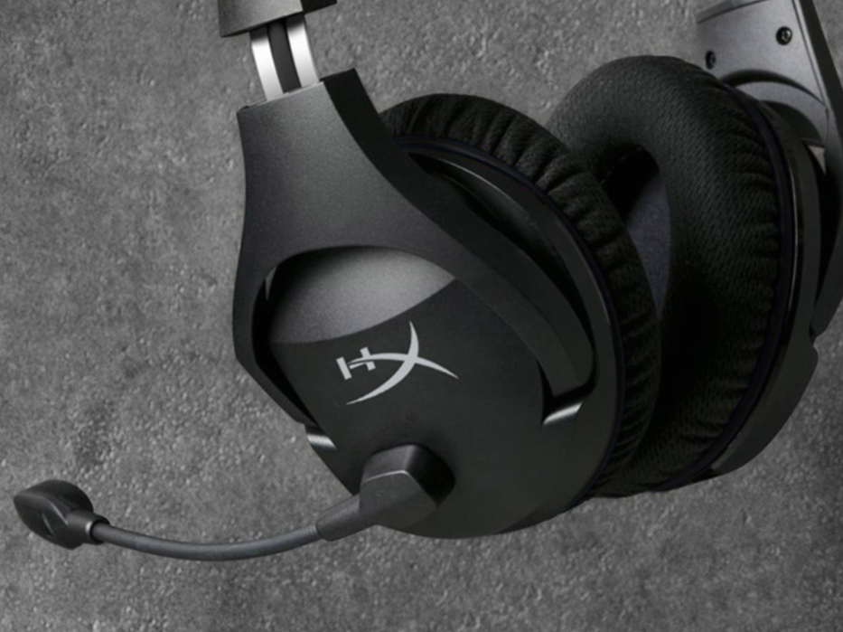 HyperX Stinger毒刺灵动7.1无线游戏耳机 新品售价529元