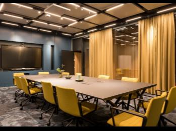 激发灵感的工作环境,颠覆传统的森海塞尔天花式吊顶阵列麦克风