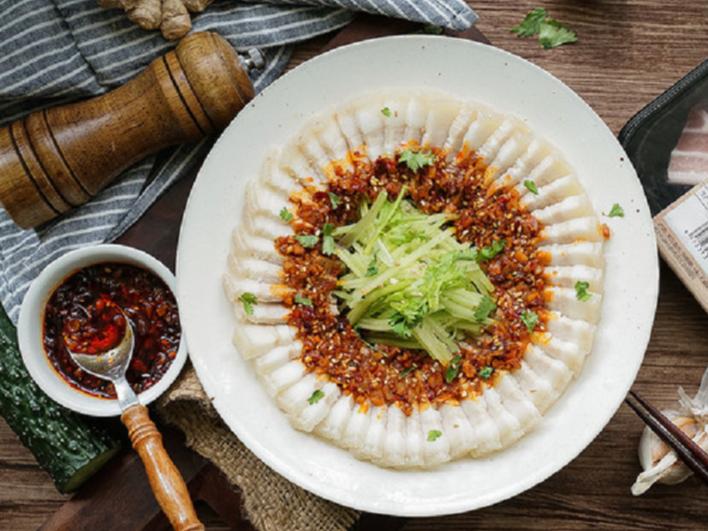 极客美食:口感香糯,简易版蒜泥白肉