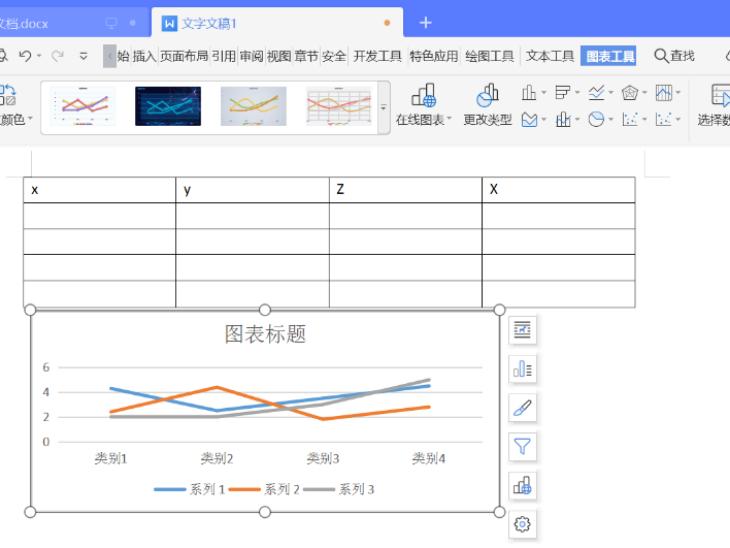 如何把表格做成折线图?WPS技巧学起来!
