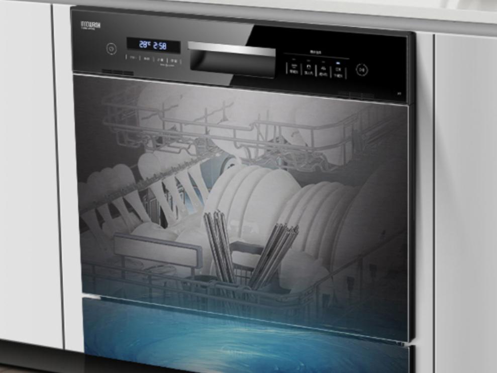 洗碗�C�N售���持�m走高 而�x普及�有多少路走?