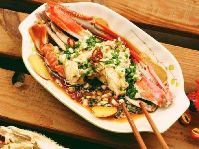 极客美食:秋风起蟹脚痒,快手版蒸螃蟹