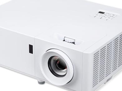 奥图码高清工程激光投影仪EL400EH项目特价15999元送120寸幕布