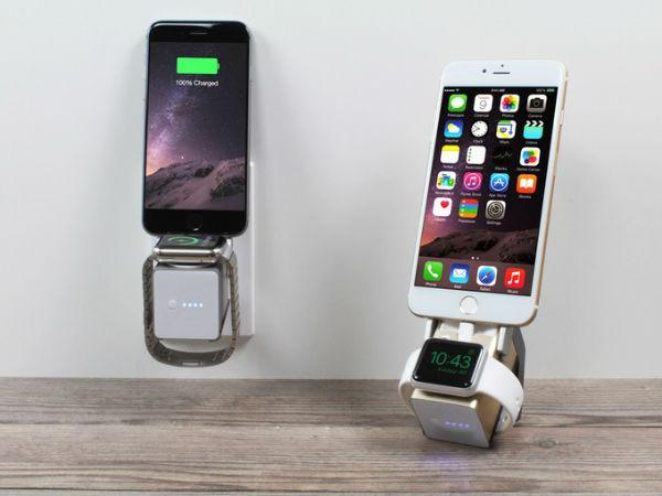 告别数据线!iPhone&Apple Watch一体旅行充