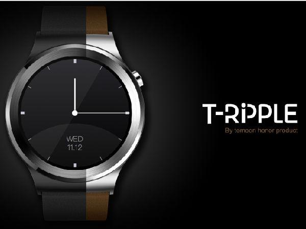 我的朋友在手上 土曼T-RIPPLR智能手表试戴