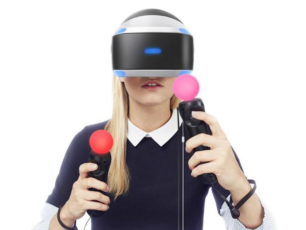 VR头显中的