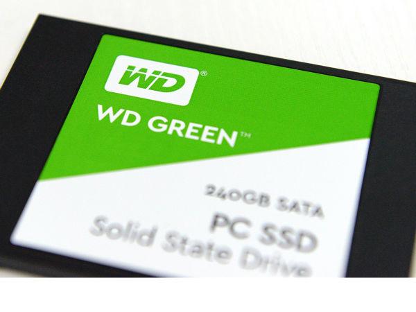 西部数据入门级固态硬盘WD Green评测