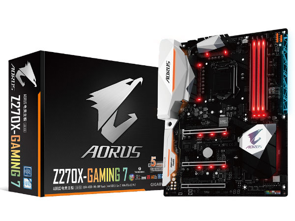 技嘉AORUS Z270X-Gaming 7售2699!