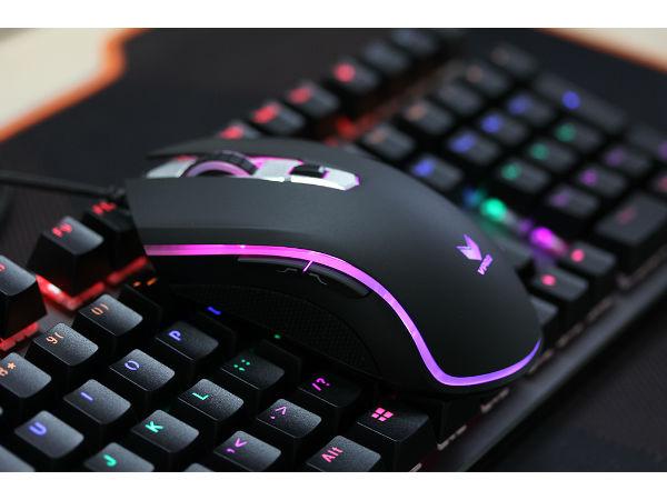 1680万色感应呼吸灯 雷柏V25S游戏鼠标评测