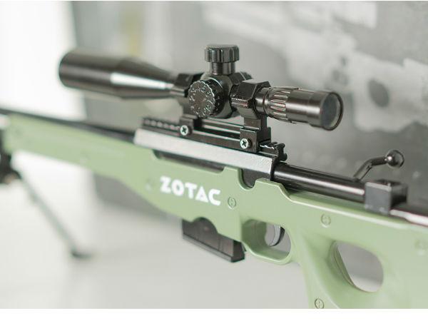 '吃鸡'更有激情 索泰推出定制版AWP狙击步枪模型