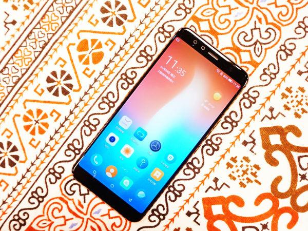 国美U7手机体验评测:全面屏双摄全都有 三重生物识别玩出新鲜感