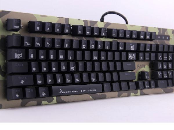 超耐用 强防护 法米极地战士迷彩版机械键盘评测