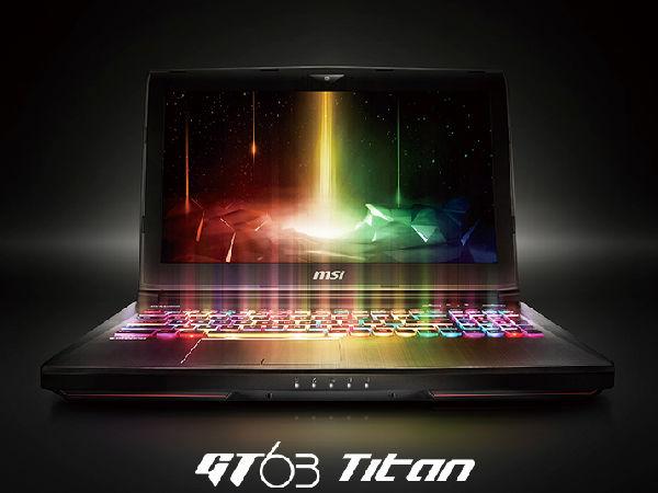 当炫彩灯光配上肌肉性能 微星GT63 8RG-014CN游戏本正在热销