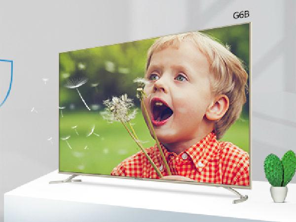 健康视界 光学防蓝光电视创维55G6B售价4999元