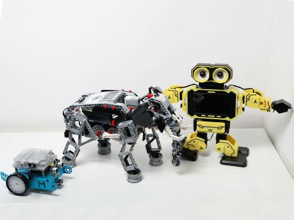 可编程教育机器人大战  捍地、mBot、乐高对比评测