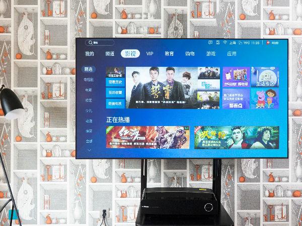 首款万元级4K激光电视登场 海信80��L5体验评测