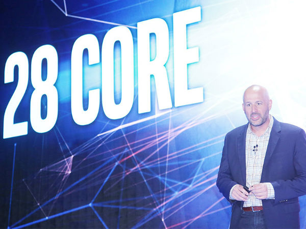 COMPUTEX 2018英特尔发布28核心处理器跑分碾压i9-7980XE