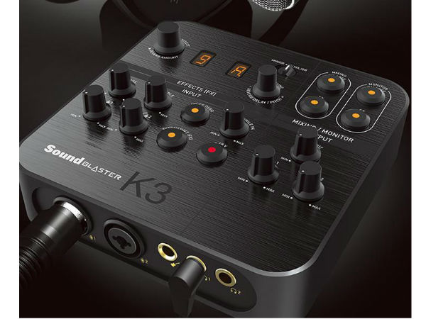 创新高清外置声卡K3 带给你全新的直播体验