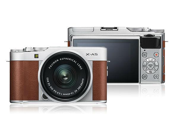 便携时尚的拍照好物 富士X-A5无反相机推荐