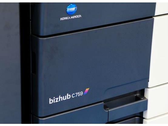 效率新旗舰柯尼卡美能达彩色多功能复合机bizhub C759评测