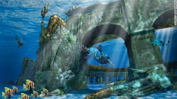 迪拜又疯了:重建水下亚特兰蒂斯!图片