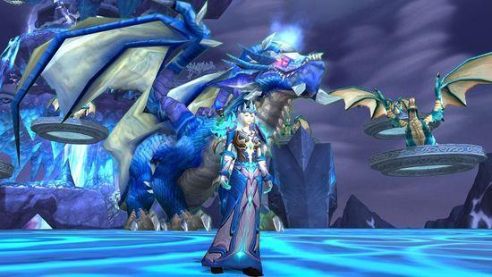 魔兽世界布甲土豪幻化T3霜火套装与永冬之冠