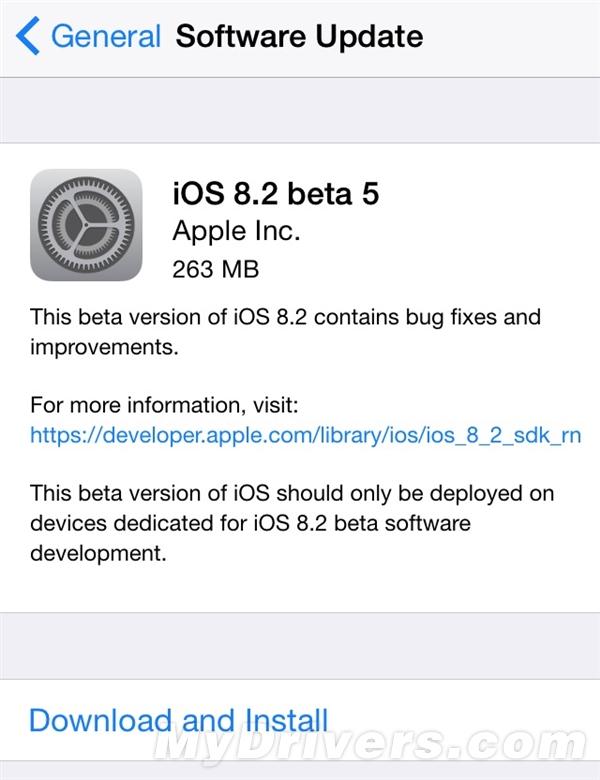 iOS 8.2测试上瘾了!