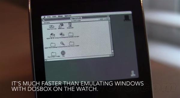 安卓表运行苹果Ⅱ系统:比Windows快