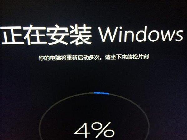 用户吐槽:微软,你以为我是站着装系统的吗?