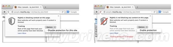 Firefox浏览器的跟踪保护技术