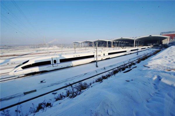 世界首条全线高寒高铁,中国造