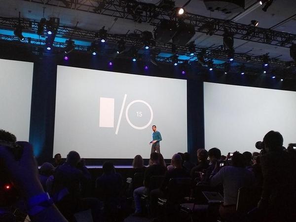 2015谷歌I/O开发者大会正式开始