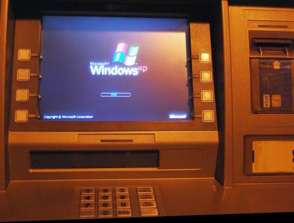 ATM机赶时髦:集体升级Windows 10