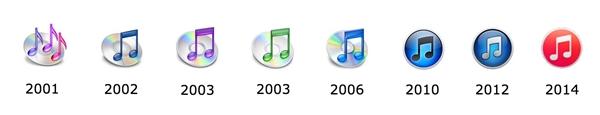苹果iTunes又换图标:也被库克掰弯了?