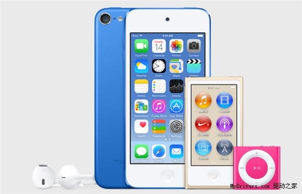 苹果将更新全系列的iPod touch将迎来大升级