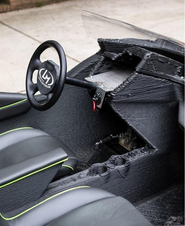世界首款3D打印电动汽车将问世 价格5000刀