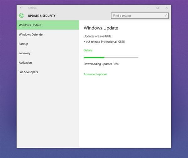 Windows 10首个预览版更新Build 10525推送!