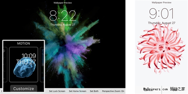 iPhone 6S全新动态壁纸曝光