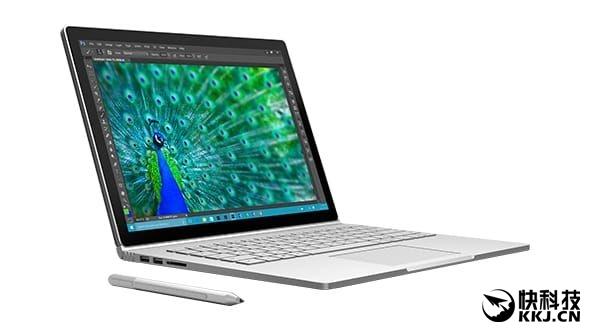 苹果点评Surface Book