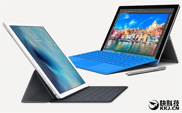微软发飙!Windows平板份额大涨:办公完爆iPad Pro